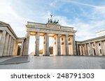 The Famous Brandenburg Gate In...