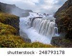 Gullfoss. Waterfall Located In...