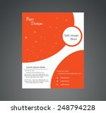 abstract business brochure | Shutterstock .eps vector #248794228