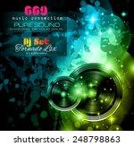 disco night club flyer layout...