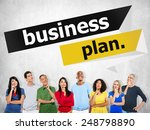 business plan planning strategy ... | Shutterstock . vector #248798890