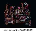 Music Party Vector Illustratio...