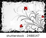 abstract grunge valentines... | Shutterstock .eps vector #2488147