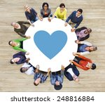 like emotion love passion... | Shutterstock . vector #248816884