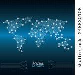 world map | Shutterstock .eps vector #248830108