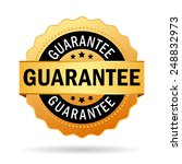 guarantee business icon | Shutterstock .eps vector #248832973