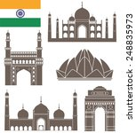 india building logo. isolated... | Shutterstock .eps vector #248835973