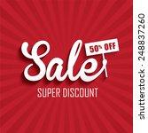 sale poster | Shutterstock .eps vector #248837260
