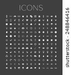 set of web icons for business ... | Shutterstock .eps vector #248846416