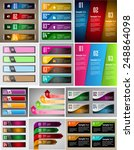 colorful modern text box... | Shutterstock .eps vector #248864098