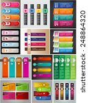 colorful modern text box... | Shutterstock .eps vector #248864320