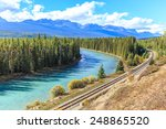 morant's curve at bow river... | Shutterstock . vector #248865520