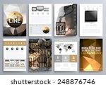 set of design templates for...   Shutterstock .eps vector #248876746