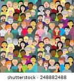 seamless background or... | Shutterstock .eps vector #248882488
