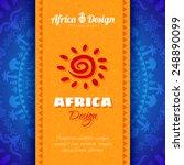 african tribal ethnic art... | Shutterstock .eps vector #248890099