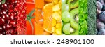 healthy food background....   Shutterstock . vector #248901100