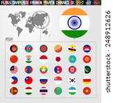 complete world flag collection  ... | Shutterstock .eps vector #248912626