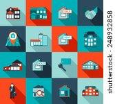 real estate house residential... | Shutterstock .eps vector #248932858
