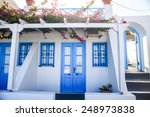 Typical Blue Door With Stairs....
