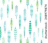 seamless pattern of watercolour ...   Shutterstock .eps vector #248979874
