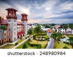 St. Augustine  Florida  Usa...