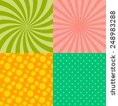 background pattern theme vector ... | Shutterstock .eps vector #248983288
