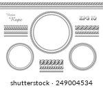 template of design elements.... | Shutterstock .eps vector #249004534