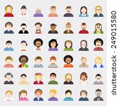 vector of people | Shutterstock .eps vector #249015580