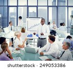 business people team teamwork... | Shutterstock . vector #249053386