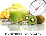Kiwi Juice In Glass  Fruit Tap...