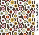 seamless floral pattern. many... | Shutterstock .eps vector #249065440