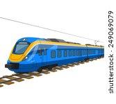 train | Shutterstock .eps vector #249069079