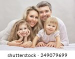 portrait of a happy family | Shutterstock . vector #249079699