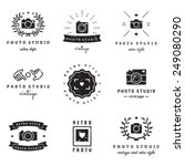 Photo Studio Logo Vintage...