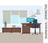 flat design vector illustration ... | Shutterstock .eps vector #249081760