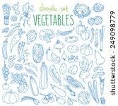 Set Of Various Doodles  Hand...