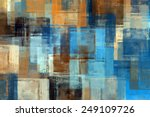 Abstract Painting. Colored...