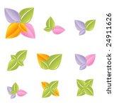 green leaf set vol4 | Shutterstock .eps vector #24911626