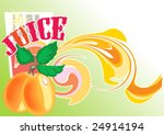 this is a background with an... | Shutterstock .eps vector #24914194