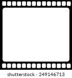 blank film strip isolated vector | Shutterstock .eps vector #249146713