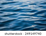 Texture Of Blue Water. It Is...