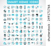 home automation icons set ... | Shutterstock .eps vector #249171766