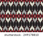 tribal seamless colorful... | Shutterstock .eps vector #249178810