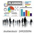 diversity business people...   Shutterstock . vector #249205096