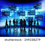 stock exchange market trading... | Shutterstock . vector #249238279