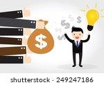 feedback  business concept   Shutterstock .eps vector #249247186