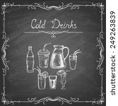 vintage style. collection of... | Shutterstock .eps vector #249263839