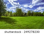 trees in the park. green | Shutterstock . vector #249278230
