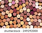 wine corks background | Shutterstock . vector #249292000