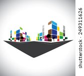 vector icon   building of home...   Shutterstock .eps vector #249311626